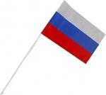 Флаг РФ на пласт. трубке.